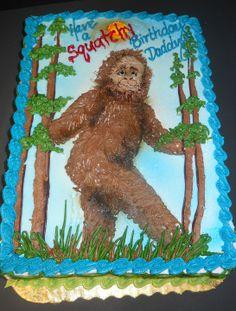 Sasquatch Cake   #105 Birthday Cakes Lancaster   Oregon Dairy Bake Shoppe
