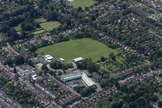 Recreation Road Infant School & Earlham House Shopping Centre - Norwich aerial | by John D F