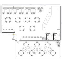 The success of any restaurant is about more than great food and an inviting ambience. Having a strategic design is the key to delivering on the promise you make to your customers. Using these sample restaurant floor plans is a recipe to your business' success.