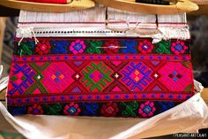 Textile Artisan Ana Rogozea Hand Weaving Traditional Towels With Vibrant Patterns #weavings #patterns #textiles #romania #rural #villages #crafts
