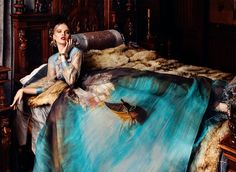 Paint Me Over: Extraordinary Adorned Gowns Painted Like Classical Art