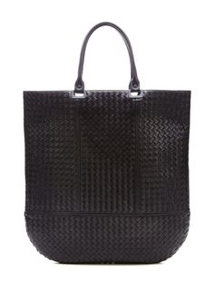 Intrecciato Leather Oversized Tote from tote bag on Gilt