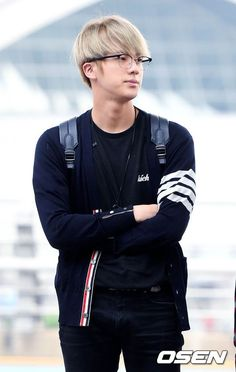 BTS at Incheon Airport Heading to Manila-Philippines [160902] | Jin