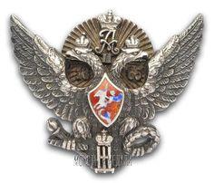 Знак для окончивших Елизаветградское кавалерийское училище, № 504.  Российская Империя, 1913–1917 гг.