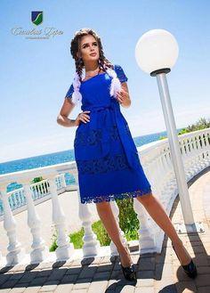 5560304b4f4 Платье с кружевом в расцветках 20053  Интернет-магазин модной женской одежды  оптом и в розницу . Самые низкие цены в Украине. платья женские от