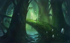 Forest Serenity by EternaLegend on deviantART