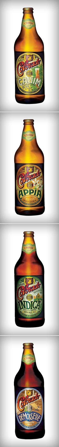 Marcelo Carneiro | Rótulos Cerveja Artesanal Colorado