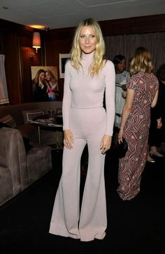 gwyneth paltrow pantsuit picture march 2016 | Gwyneth Paltrow attends The Hollywood Reporter and Jimmy Choo's Power ...
