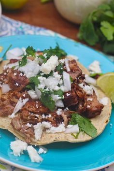 Carnitas mexican steet tacos!!! I have been obsessed but can't afford to buy every day... so need to make my own!