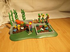 Playmobil Superset Blumengarten 3134 Beet Liege Flora   eBay