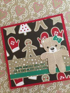 Stampin up Cookie-Cutter Christmas スタンピンアップ クッキーカッタークリスマス