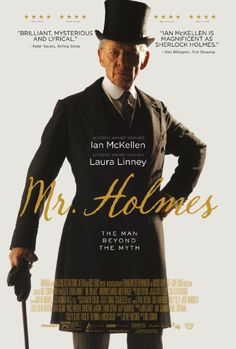 """An aged, retired Sherlock Holmes looks back on his life, and grapples with an unsolved case involving a beautiful woman."" (2015, no Swedish release date set)"