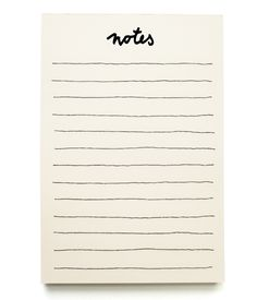 """PETERSEN Block / note pad """"notes"""", A5"""
