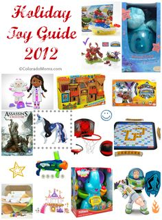 2012 Holiday Toy Guide by ColoradoMoms.com