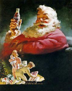 1952 ... coca-cola santa by x-ray delta one, via Flickr