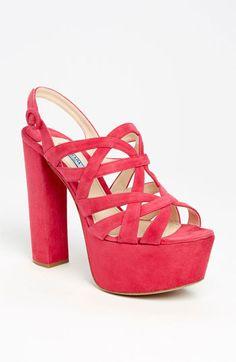Prada Caged Platform Sandal (pink, 2013)