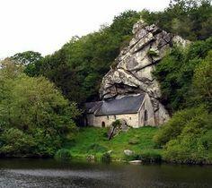 La Chapelle de Saint Trephine, Pontivy, Brittany, France... via Clever Confidante by Julie Webber: February 2011