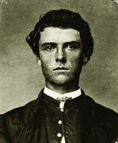 "William ""Buffalo Bill"" Cody, age nineteen, c. 1865. (Buffalo Bill Historical Center) (Old school hot)"