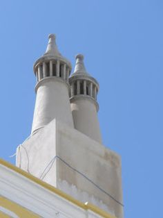 Algarve, Villas, Moorish, Portuguese, Architecture, Cubist Architecture, Skylights, Rooftops, Fireplaces