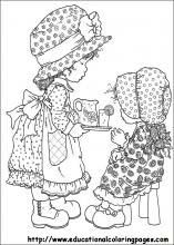 Sarah Kay Coloring Pages free For Kids