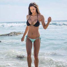 "7,161 Likes, 64 Comments - B I K I N I T R O P I C A L (@bikinitropical) on Instagram: ""@jannabreslin @stayinbikini . . . #bikini #bikinilife #swimsuit #tan #tanlines #beachday…"""