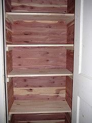 Marvelous Another Cedar Closet Example