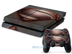 Cool High-quality Decal Skin Sticker for Playstation 4 PS4 + 2 Controller Cover #UnbrandedGeneric #fashion