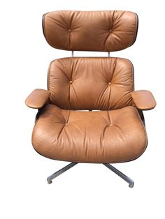 Vintage Eames Style Lounge Chair on Chairish.com