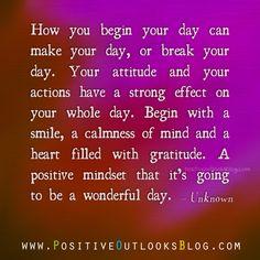 a positive mindset