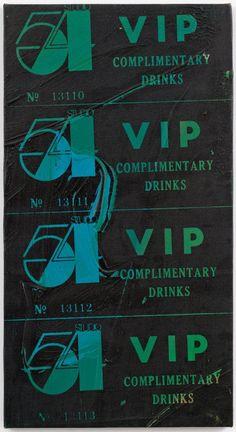 "Andy Warhol's ""Studio 54 VIP,"" 1978"