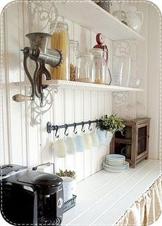 Decorer une cuisine vintage Plus