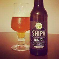 SHIPA HBC 431 für die zweite Halbzeit  #craftbeer #kehrwieder #kreativbrauerei #hamburg #kiel #shipa #ipa #indiapaleale #singlehop #beerstagram #ilovebeer #instabeer #beerporn #beer #cheers