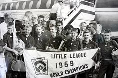 The baseball team from Hamtramck, MI, led by Pinky Deras, won the Little League World Series in Detroit Sports, World Series, Champion, Led, Baseball