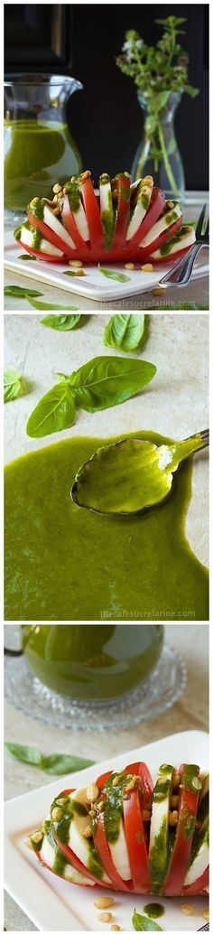 SWEET BASIL VINAIGRETTE | Best Recipes - Great to start alkaline lifestyle. More about on saksa.sevenpoint2... .