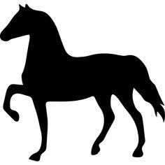 Les silouettes - Un cheval au pas d'école Silhouette Clip Art, Animal Silhouette, Silhouette Portrait, Cowboy Birthday Party, Horse Birthday, Baby Flash Cards, Horse Stencil, Horse Party, Horse Crafts