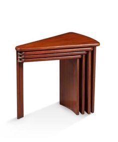 "PIERRE CHAREAU (1883-1950) Table gigogne ""?ventail"" modle MB106"