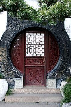 Asian Door (Yuyuan Garden, Shanghai)