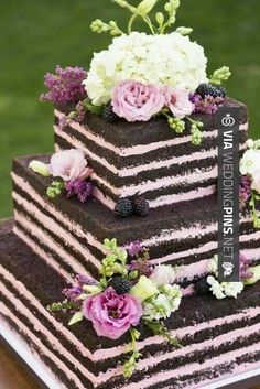 Cool! - Wedding Cake Trends 2015 - Trending.Naked Wedding Cakes! - Wedding Dash Blog Post | CHECK OUT THESE OTHER AWESOME PHOTOS OF NEW Wedding Cake Trends 2015 AT WEDDINGPINS.NET | #weddingcaketrends2015 #weddingcaketrends #weddingcakes #weddingtrends #weddings #weddinginvitations #vows #tradition #nontraditional #events #forweddings #iloveweddings #romance #beauty #planners #fashion #weddingphotos #weddingpictures