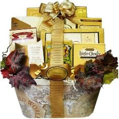 Art of Appreciation Old World Charm Gourmet Food and Snacks Gift Basket $44.99