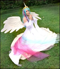 MlP FiM: Princess Celestia Cosplay by KuraiOfAnagura.deviantart.com