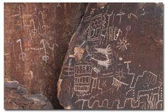petroglyphs Grapevine Canyon
