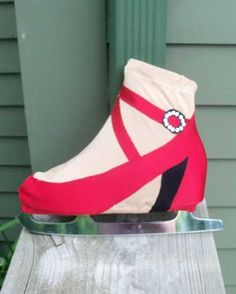 Cruella Deville Custom Boot Cover