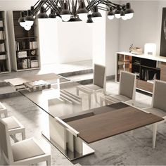 lima lux extendable dining table 120 200cm white high gloss table rh pinterest com