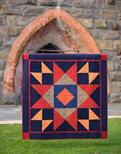 The Star of the Show Woolie flannel Quilt Kit at www.pineneedlequiltshop.com