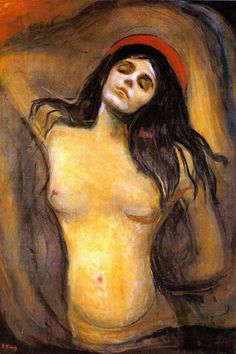 madonna edvard munch - Android Wallpapers HD