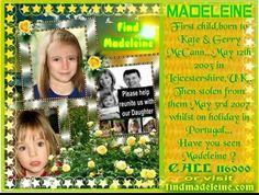 #findmadeleine