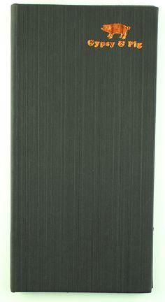 Carbon Rod   Black G-Line - Bronze Foil Debossing