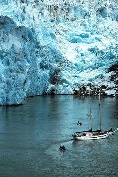 See a glacier