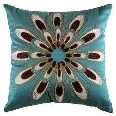 I pinned this Passiflora Cushion from the Caryn Grossman