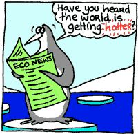 Join Tiki the penguin as he talks about global warming and how it affects our Earth. http://tiki.oneworld.net/global_warming/climate_home.html